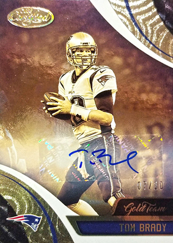 2018 Certified Tom Brady Autograph