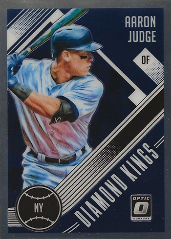 2018 Donruss Optic Baseball Aaron Judge Diamond Kings