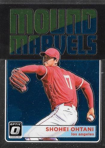 2018 Donruss Optic Baseball Mound Marvels Shohei Ohtani