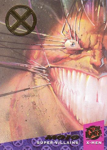 2018 Fleer Ultra X-Men 1994 Buyback Mojo