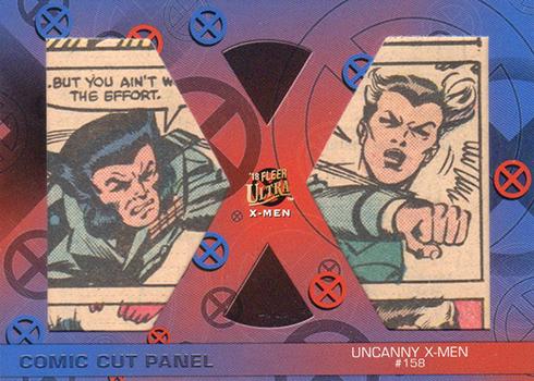 2018 Fleer Ultra X-Men Comic Cut Panel Dual