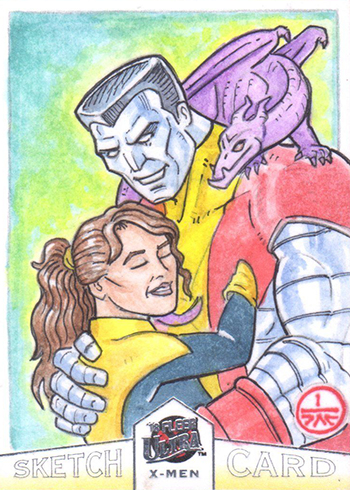 2018 Fleer Ultra X-Men Sketch Card Jeff Carlisle