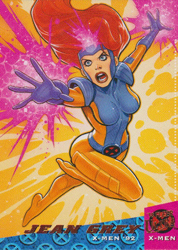 2018 Fleer Ultra X-Men Base Set Trading Card #20 Domino