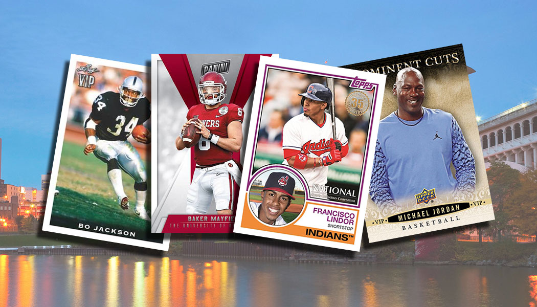 2018 National Sports Collectors Convention Vip Cards