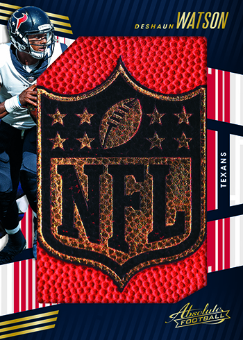 2018 Panini Absolute Football Jumbo NFL Shields