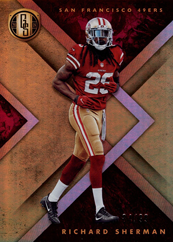 2018 Panini Gold Standard Football Richard Sherman