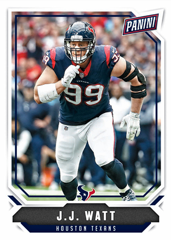 2018 Panini National Convention Wrapper Redemption Base JJ Watt
