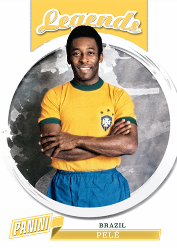 2018 Panini National Convention Wrapper Redemption Base Legends Pele