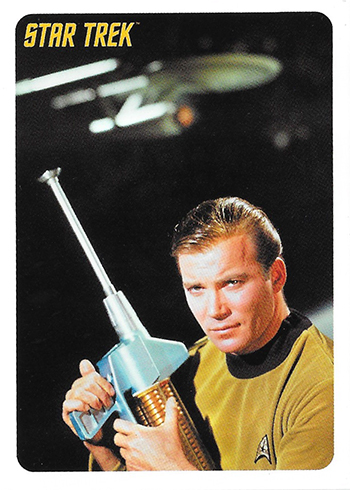2018 Rittenhouse Star Trek Captains Collection Promo Cards P1