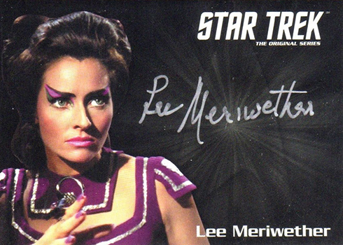 2018 Rittenhouse Star Trek Captains Collection Silver Signature Series Lee Meriwether
