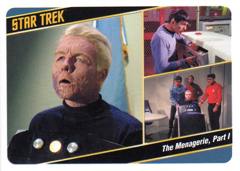 2018 Rittenhouse Star Trek Captains Collection Variation 16a Case Topper
