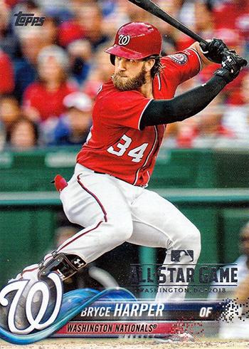 2018 Topps Baseball All-Star Insert Bryce Harper