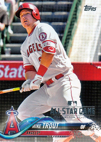2018 Topps Baseball All-Star Mike Trout