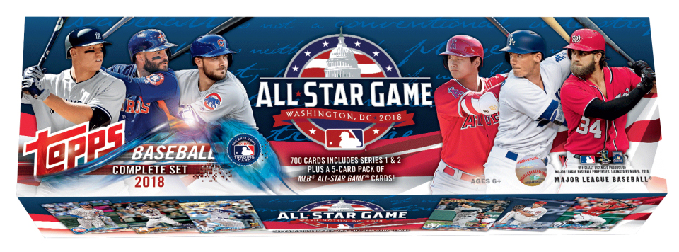 2018 Topps Baseball Factory Sets All-Star
