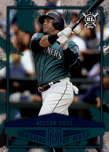 2018 Topps Big League Baseball Ministers of Mash Nelson Cruz