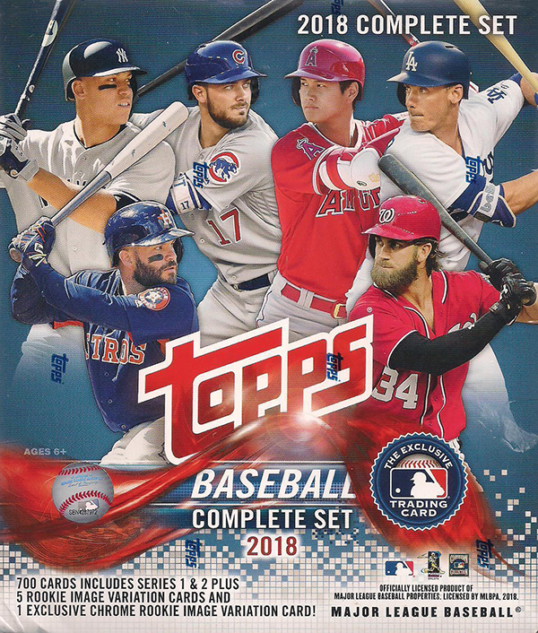 2018 Topps Baseball Factory Sets Hobby Details Exclusives