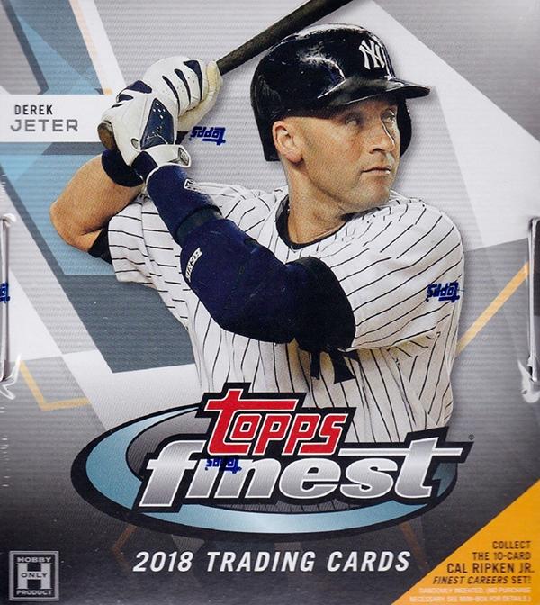 2018 Topps Finest Baseball Hobby Box