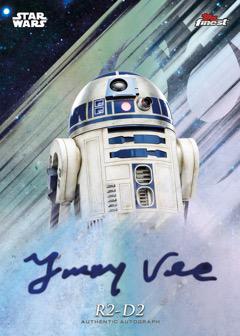 2018 Topps Finest Star Wars Autograph