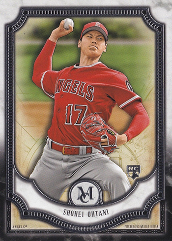 2018 Topps Museum Collection Shohei Ohtani