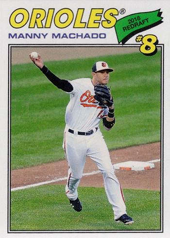 2018 Topps TBT 104 Manny Machado