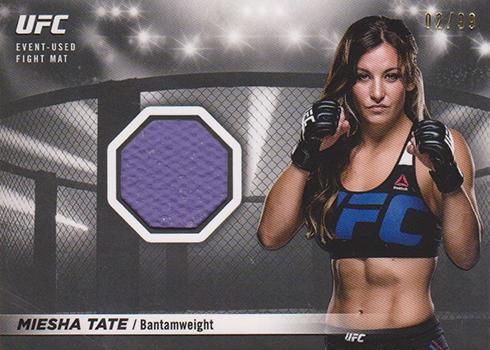 2018 Topps UFC Knockout Fight Mat Relic Miesha Tate