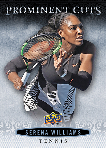 2018 Upper Deck National Convention Prominent Cuts Serena Williams