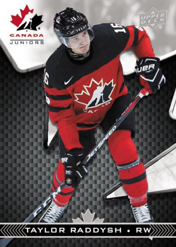 2018 Upper Deck Team Canada Juniors Hockey Base