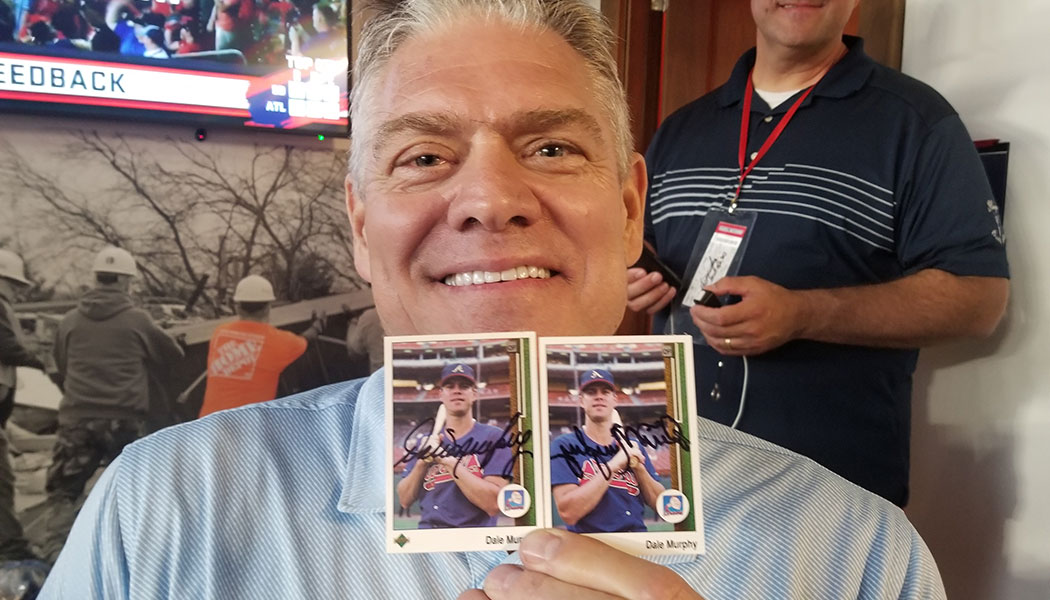 One Collectors Quest For The Elusive Reverse Negative Dale Murphy