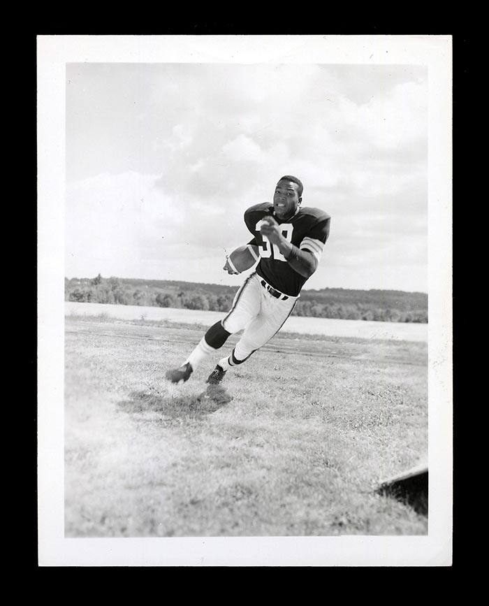 1958 Topps Jim Brown Rookie Card Type I Photo
