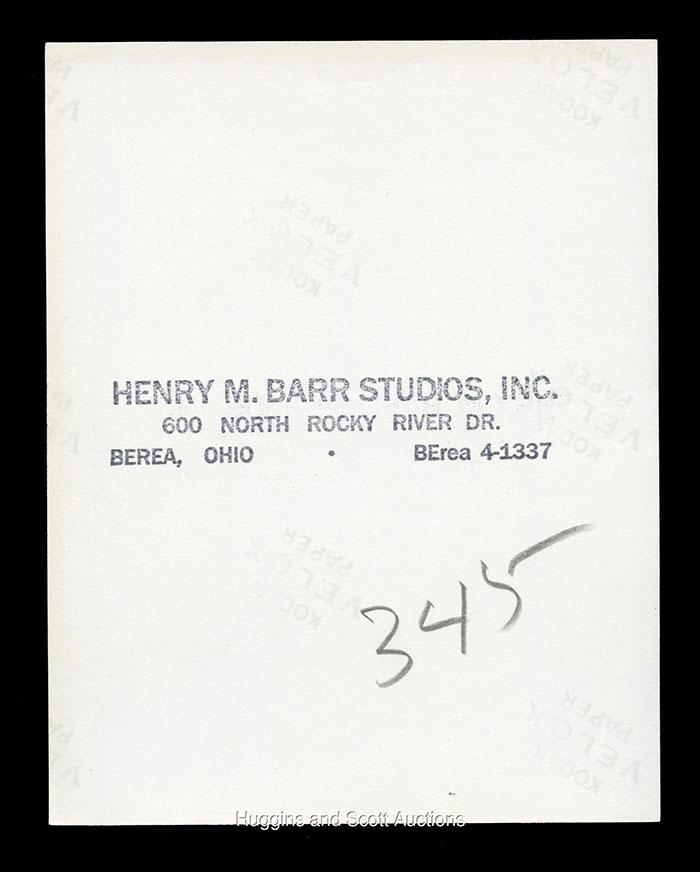 Original 1958 Topps Jim Brown Rookie Card Type I Photo Hits