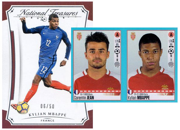 wholesale dealer a138e 128f5 10 Important Kylian Mbappe Cards and Stickers from Early in ...
