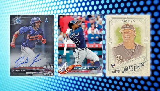 Ronald Acuna Jr. Rookie Card and Prospect Card Highlights