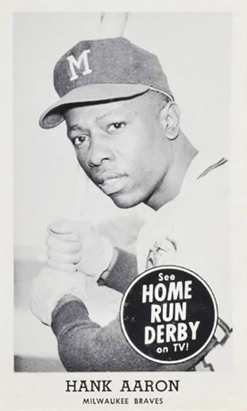 1959 Home Run Derby Hank Aaron