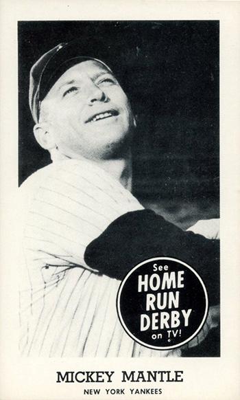 1959 Home Run Derby Mickey Mantle