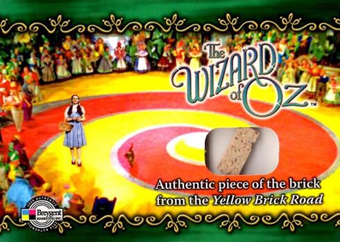 2006 Breygent Wizard of Oz Yellow Brick Road Prop YBS2