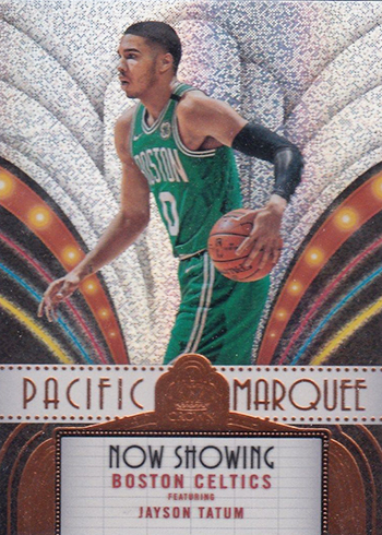 2017-18 Panini Crown Royale Basketball Pacific Marquee Jayson Tatum