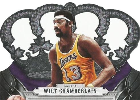 2017-18 Panini Crown Royale Basketball Wilt Chamberlain