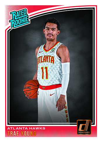 2018-19 Donruss Basketball Base Rated Rookie