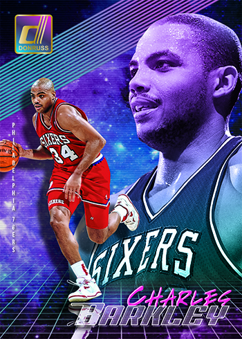 2018-19 Donruss Basketball Charles Barkley SP