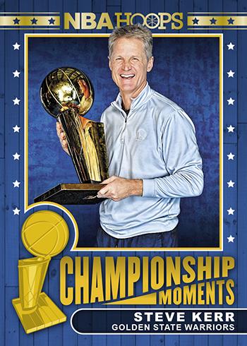 2018-19 NBA Hoops Basketball Championship Moments