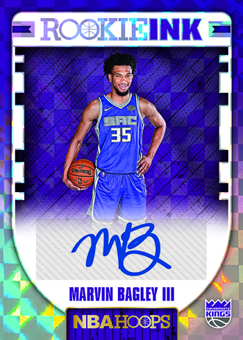 2018-19 NBA Hoops Basketball Rookie Ink