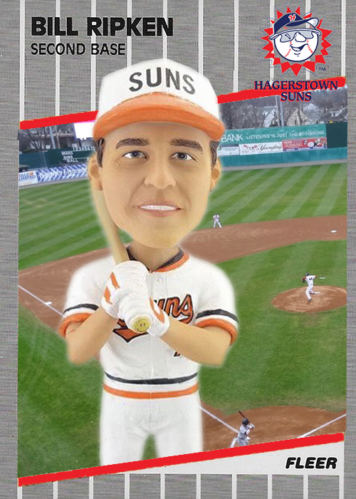 Hagerstown Suns Turn 1989 Fleer Billy Ripken Into A