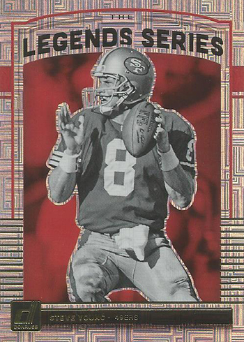 2018 Donruss Football The Legend Series Steve Young