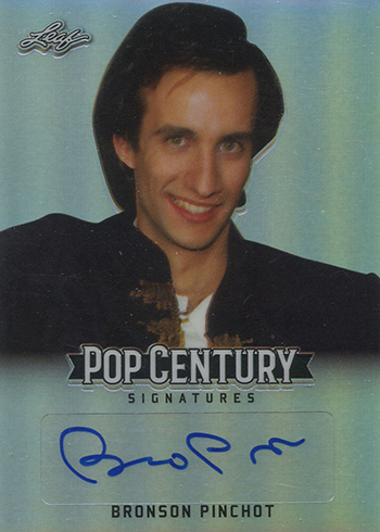 2018 Leaf Metal Pop Century Base Autographs Bronson Pinchot