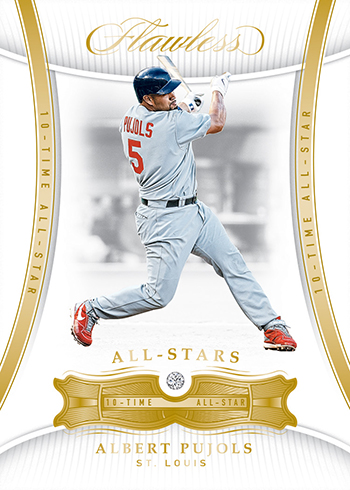 2018 Panini Flawless Baseball Base All-Stars