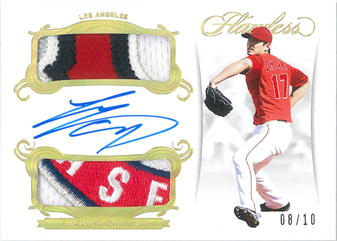 2018 Panini Flawless Baseball Rookie Dual Patch Autographs