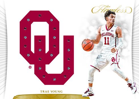 2018 Panini Flawless Collegiate Basketball Player Team Gems
