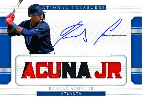 2018 Panini National Treasures Baseball Signature Names Prime