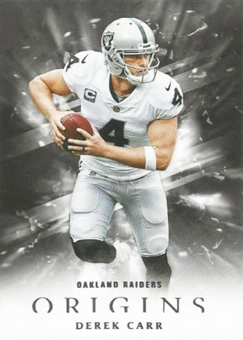 2018 Panini Origins Football Derek Carr