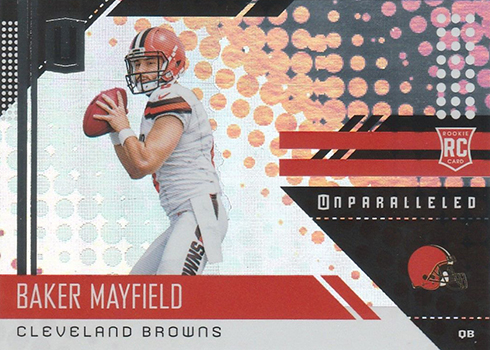 2018 Panini Unparalleled Football Baker Mayfield